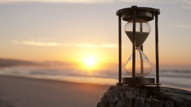 How Much Sand Is Left In Yours?