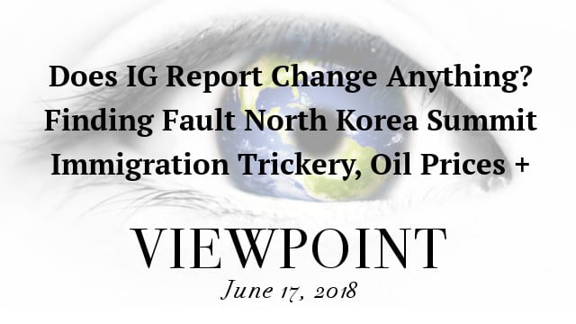 🎧 IG Report Silence, Summit Success Questioned, Immigration Trickery, Oil Prices + more