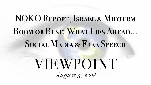 🎧 NOKO Report, Golan Heights Conflict, Economic Outlook, Social Media & Free Speech