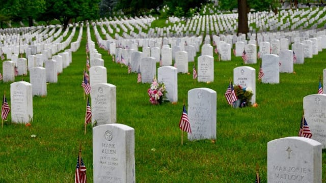 Digging Up The Dirt On Burying Our Nation's Heroes