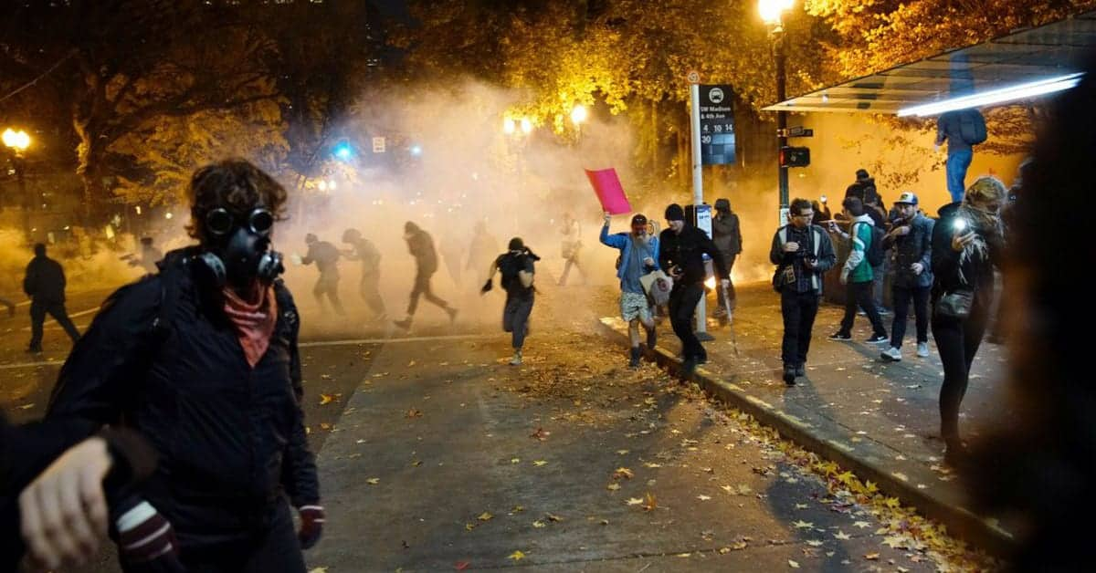 Is Violence Truly On The Horizon?…Only From the Left!