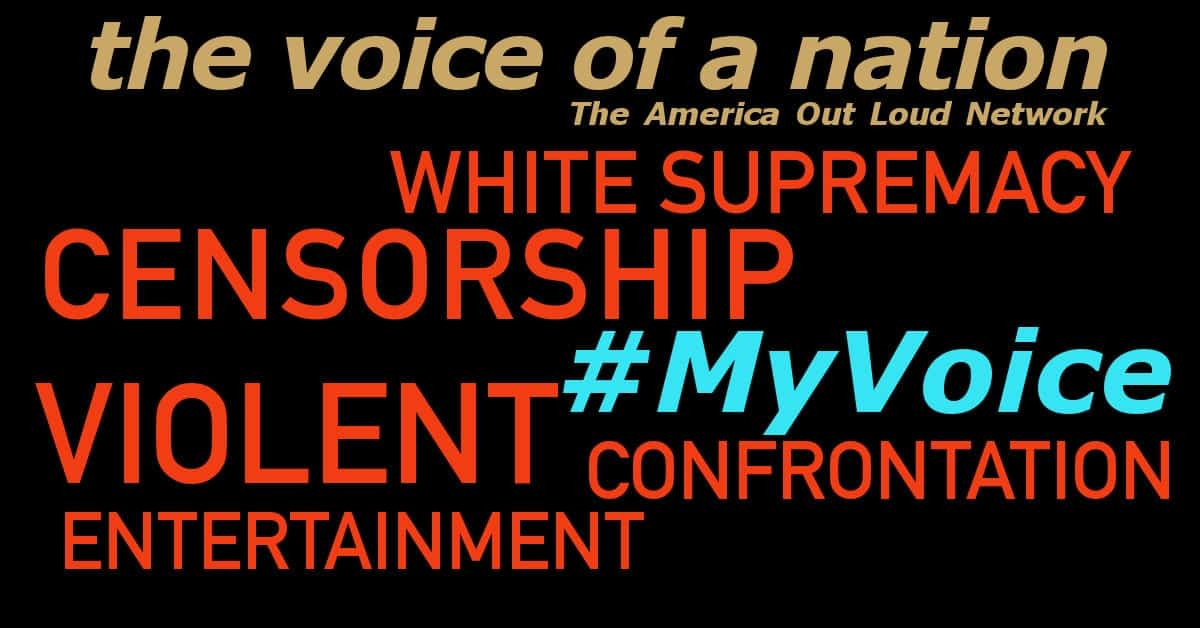 White Supremacy, Violent Entertainment, Censorship, Confrontation – #MyVoice Round 2