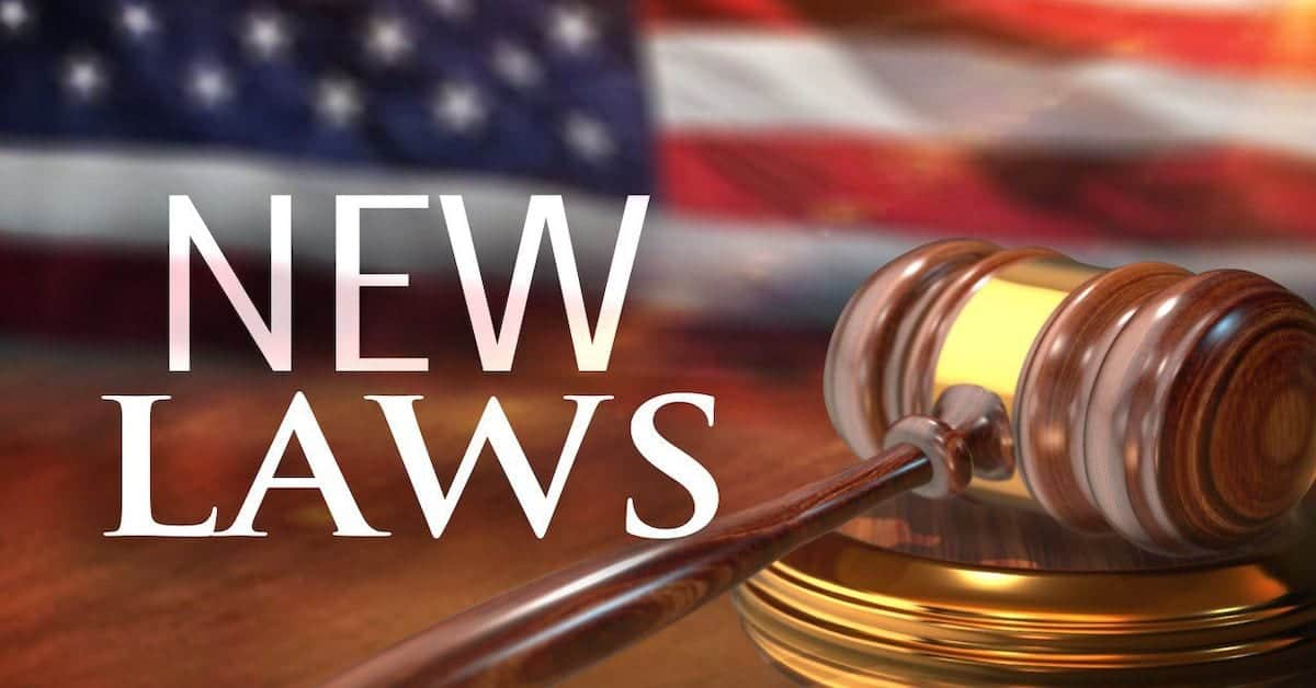 🎧 New Laws in 2020