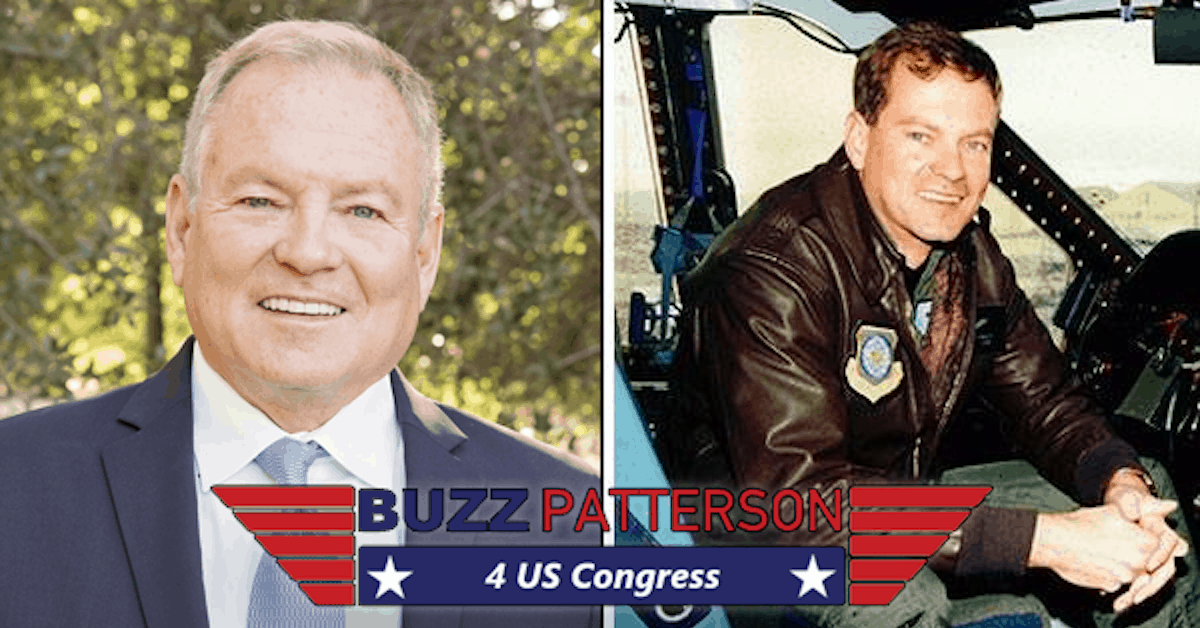 Buzz Patterson, #Election2020