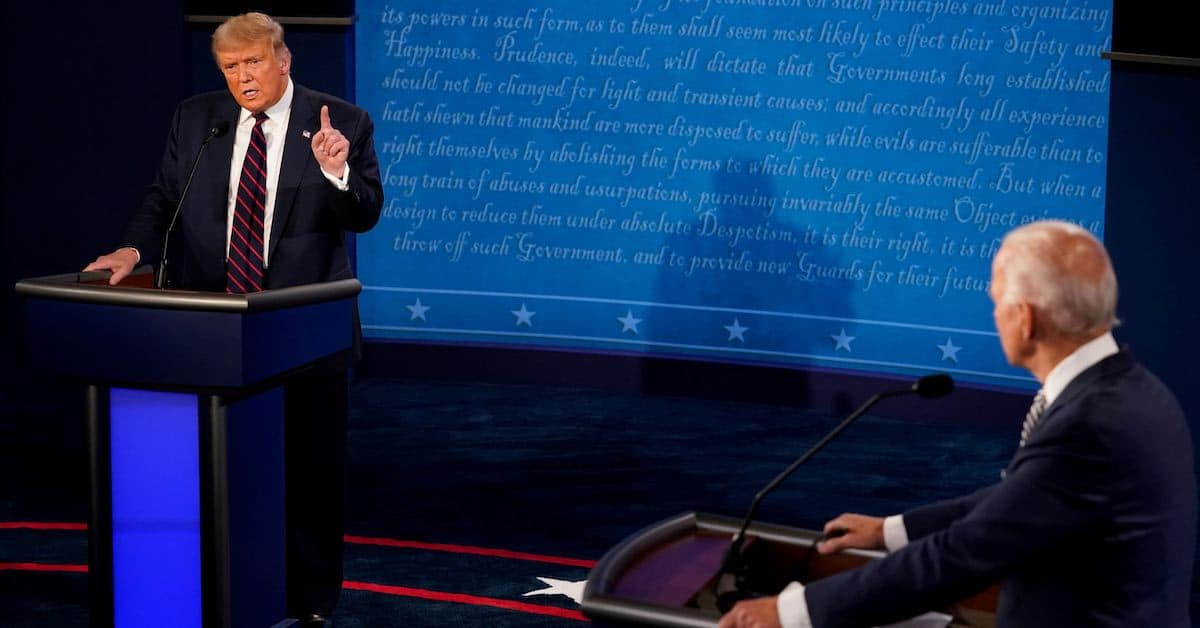 First Presidential Debate & Chaos in our Cities