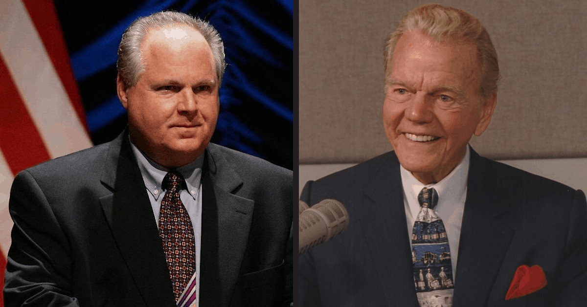 Rush Limbaugh and Paul Harvey Changed the World