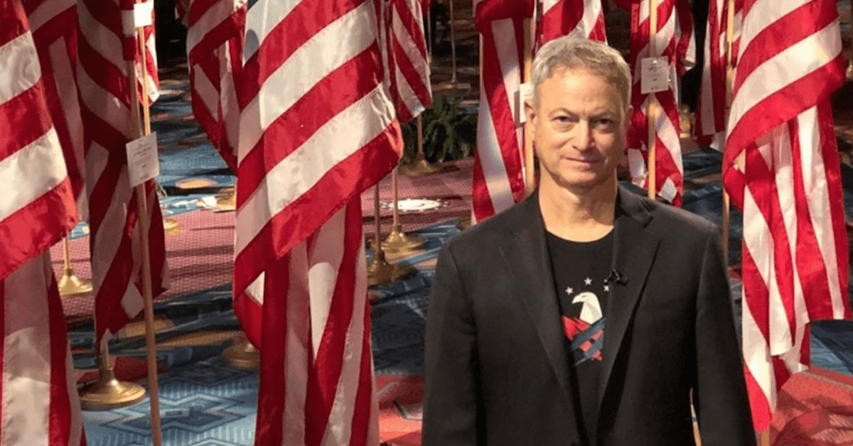 Gary Sinise is on a Mission to Heal America's Veterans & First Responders