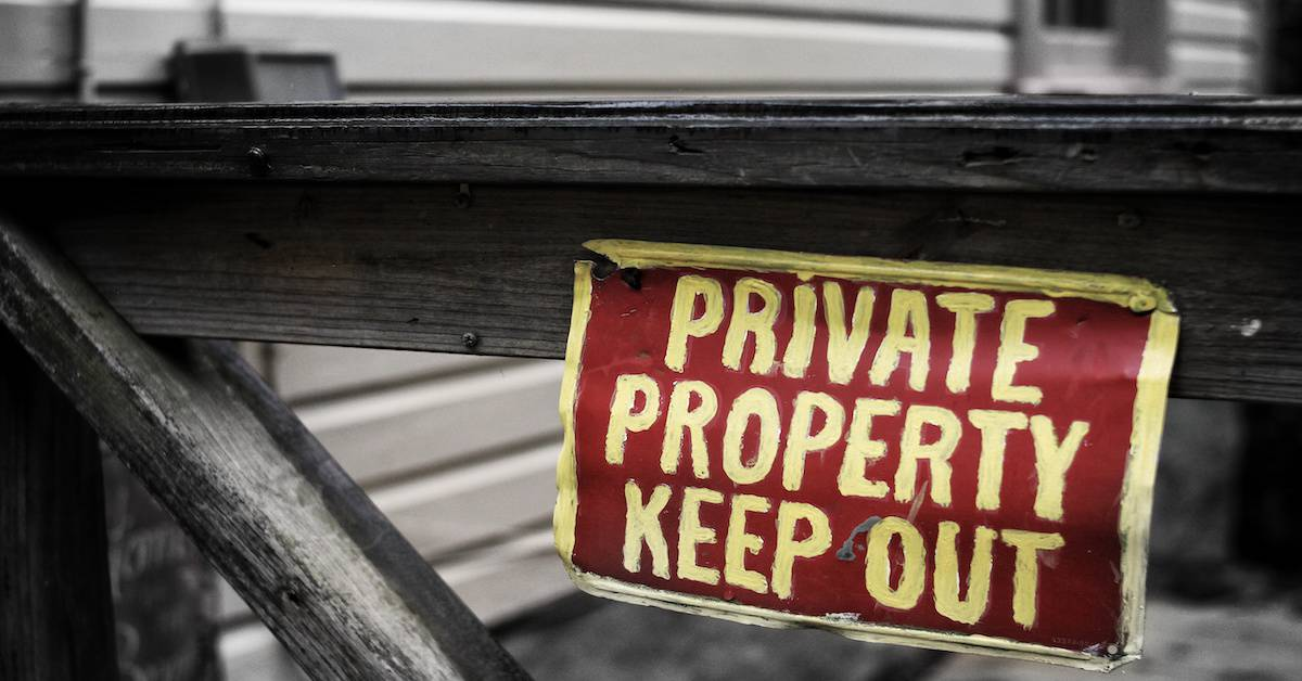 Is Private Property Private Anymore?